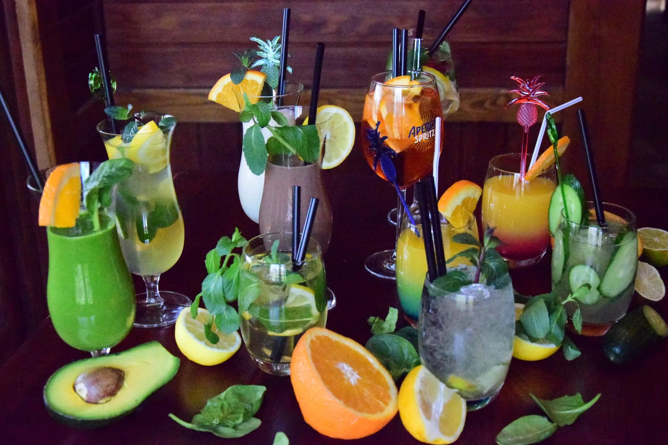 zestawy napojów