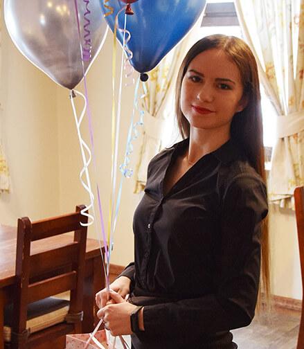 Kelnerka Oksana