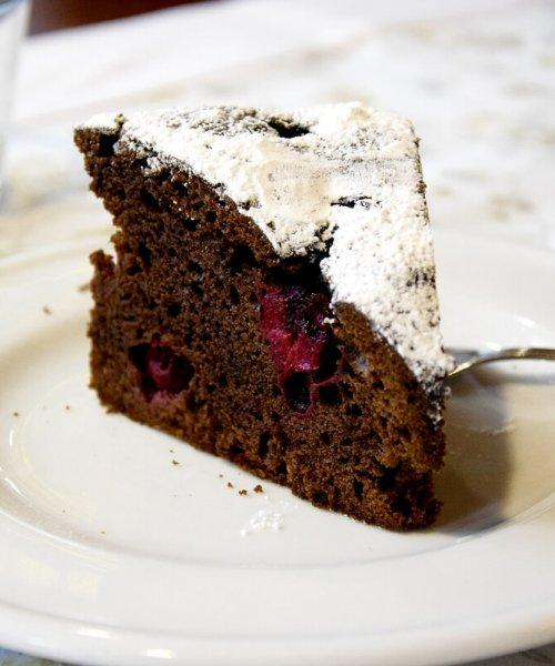 ciasto czekoladowe śliwka